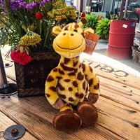 Gerri the Giraffe, the Stuffed Toy Animal Kind