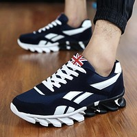 Mens Running Shoes Breathable Trainers Sneakers Footwear