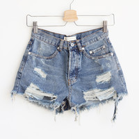 Rebekah Distressed Shorts