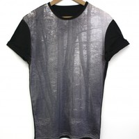 Forest Black All Over T Shirt