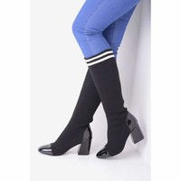 Womens Shoes, Stretch Sock Boots
