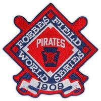 1909 MLB World Series Pittsburgh Pirates Champions Patch