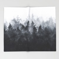 The Heart Of My Heart // Midwinter Edit Throw Blanket by Tordis Kayma | Society6