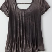 AEO Soft & Sexy Swing T-Shirt , Urban Black | American Eagle Outfitters