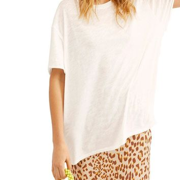 Free People - We The Free - Clarity Ringer Tee - More Colors