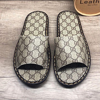 Dior GG men's and women's non-slip wear-resistant slippers shoes