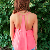 Endless Weekend Tank - Coral