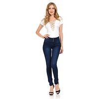 Pasion Women's Jeans - Push Up - Skinny - Style N423