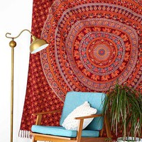 Magical Thinking Chahna Tapestry- Red One