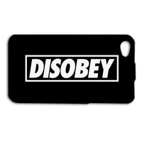 DISOBEY Phone Case Black and White iPhone Case Funny iPod Case Cool iPhone 5 Cover iPhone 5c iPhone 5s iPod 4 Case iPhone 4s iPhone 4 Case