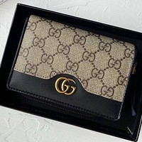 GUCCI New fashion more letter wallet  purse handbag