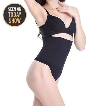 Robert Matthew Alluring Women's Shapewear High Waisted Shaping Thong