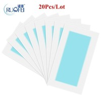 Women 20 Pcs Wax Hair Removal Strips