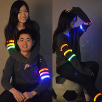 Led light safety arm band outdoor supplies