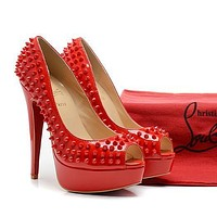 CL Christian Louboutin Fashion Heels Shoes-155
