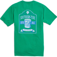 Southern Tide Short Sleeve 19th Hole T-Shirt- Augusta Green