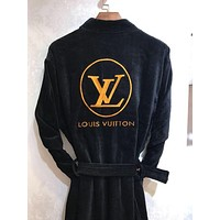 Louis Vuitton LV Embroidery Logo Bathrobe