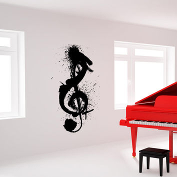 Vinyl Wall Decal Sticker Painted Note #OS_MB923