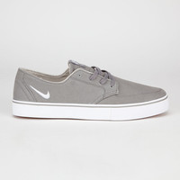 Nike Sb Braata Canvas Mens Shoes Charcoal  In Sizes