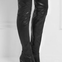 Stuart Weitzman - Highland leather over-the-knee boots