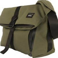 Crumpler The Pinnacle of Horror Laptop Shoulder Bag (One Size, Rifle Green)