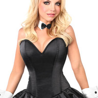 Plus Size Playful Bunny Corset Costume