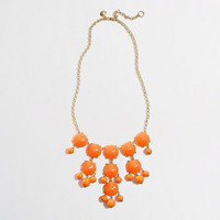 Factory resin droplet necklace