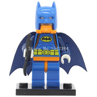 PG095 Suc Batman DC Super Heroes Minifigures Single Sale 2017 The Batman Superhero Assemble DIY Building Blocks Lepin Toys Gifts