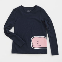 Shop Shirts for Girls': Wrap Around Whale Graphic Tee for Girls' - Vineyard Vines