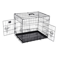 "Pet Trex PT2300 24"" Folding Pet Crate Kennel Wire Cage for Dogs, Cats or Rabbits"