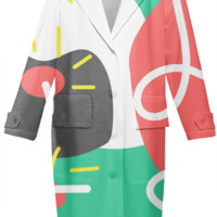Abstract Spring Neoprene Trench