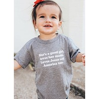 GOOD GIRL TODDLER TEE