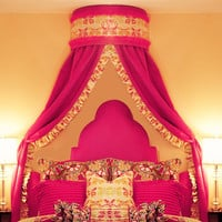 Anniston Bed Crown Cornice Collection