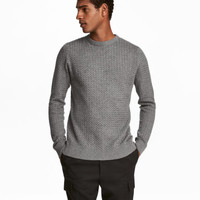 H&M Textured-knit Sweater $34.99