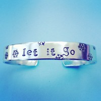 Frozen Queen Elsa of Arendelle inspired Let It Go bracelet cuff Handmade SHIPS FROM USA from SHOW PONY