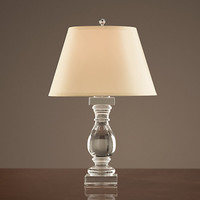 Crystal Banister Accent Lamp