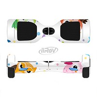 The Cartoon Emotional Owls with Polkadots Full-Body Skin Set for the Smart Drifting SuperCharged iiRov HoverBoard