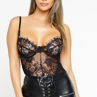 Nena Bodysuit - Black
