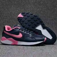 """NIKE Air Pegasus""Fashionable Women comfortable leisure sports shoes Navy Rose Hook G-PSXY"