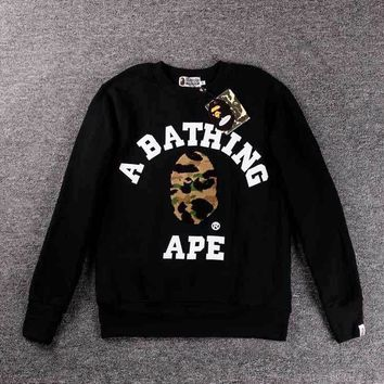 Bape Couples long sleeves round neck [10597760647]