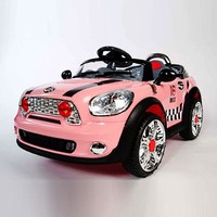 NEW 2016 MODEL Volkswagen Beetle Style 12V Kids Ride-On Car MP3 Connection Battery Powered Wheels Remote