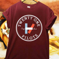 Twenty One Pilots Stay Alive Available shirt for men and women Unisex Adults Made in by USA