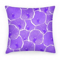Purple Poppy Flower Pattern