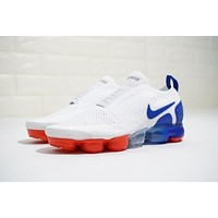 Nike Air VaporMax Moc 2 2.0 Whtie&Blue&Red Running Shoes AH7006-400