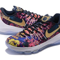 """Nike  Zoom  KD 8 Kevin Durant  Ⅷ   """"Flowers"""" Men's    Basketball Shoes"""
