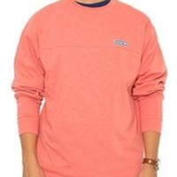Southern Shirt Company Cotton Club Pullover in Burnt Coral