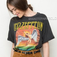 led zeppelin band tee brandy melville - Google Search