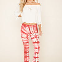 Tie-Dye Flared Pants
