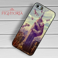 King Kong Sloth Retro - zzD for  iPhone 6S case, iPhone 5s case, iPhone 6 case, iPhone 4S, Samsung S6 Edge