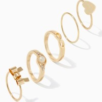 My Darling Midi Ring Set | Fashion Jewelry & Rings | charming charlie